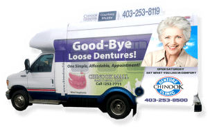 Chinook Denture Clinic Courtesy Shuttle
