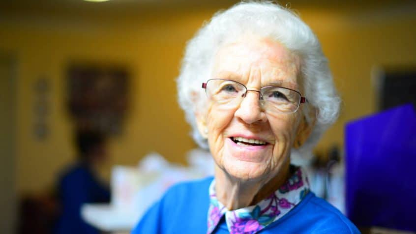 A Senior Citizen With a Great Smile